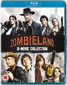 Zombieland 1 (2009) & 2: Double Tap (Blu-ray) Jesse Eisenberg, Woody Harrelson