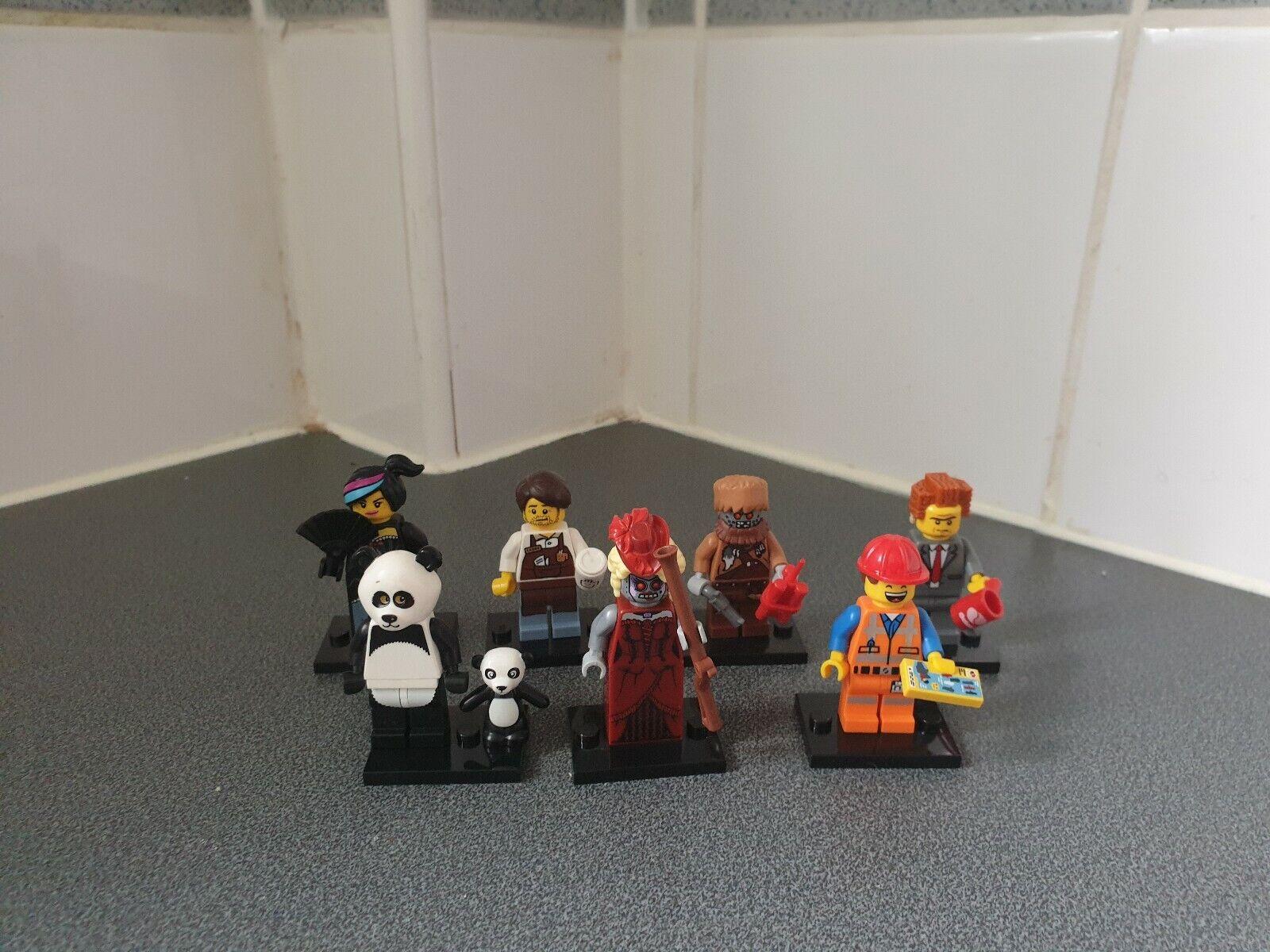 Film  LEGO 1 Minifigures Calamity Emmet Wild Style Lord Affaires Panda Larry  vente directe d'usine