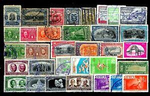 Panama-Lotto-da-68-Francobolli-Stamps-usati-perfetti