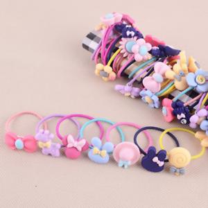 Baby-Kids-Girls-Hair-Accessories-Elastic-Hair-Band-Ties-Rope-Ponytail-Holder-10x