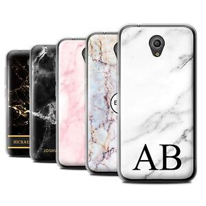 Details about Personalised Custom Marble Case for Vodafone Smart Prime  7/Initial Gel/TPU Cover