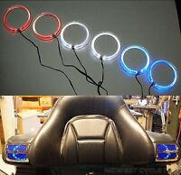Blue Angel Eyes Led Speaker Lights Goldwing Gl1800 For 4 & 5 Speakers 45-1849l
