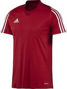 adidas-Maenner-Trainings-T-Shirt-rot-Herren-Laufshirt-Sport-Fitness-Gr-XS-XXL
