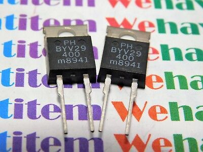 100% Kwaliteit Byv29-400 / Diode / To220 / 2 Pieces (qzty)