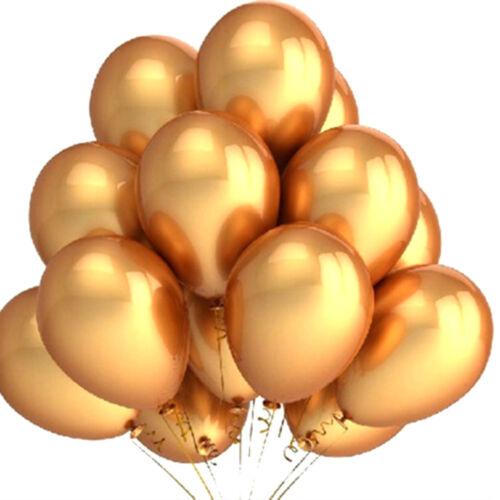 10pcs 12 Inch Golden Pearl Balloon 3.2 Grams Latex Balloon Pearly Balloons ODHN