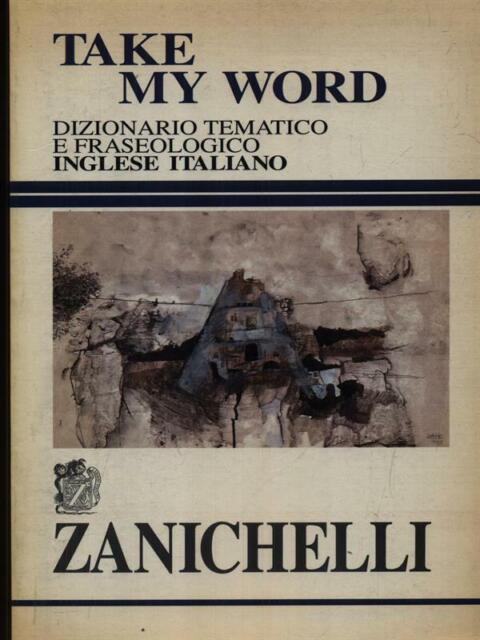 TAKE MY WORLD PRIMA EDIZIONE AA.VV. ZANICHELLI 1996
