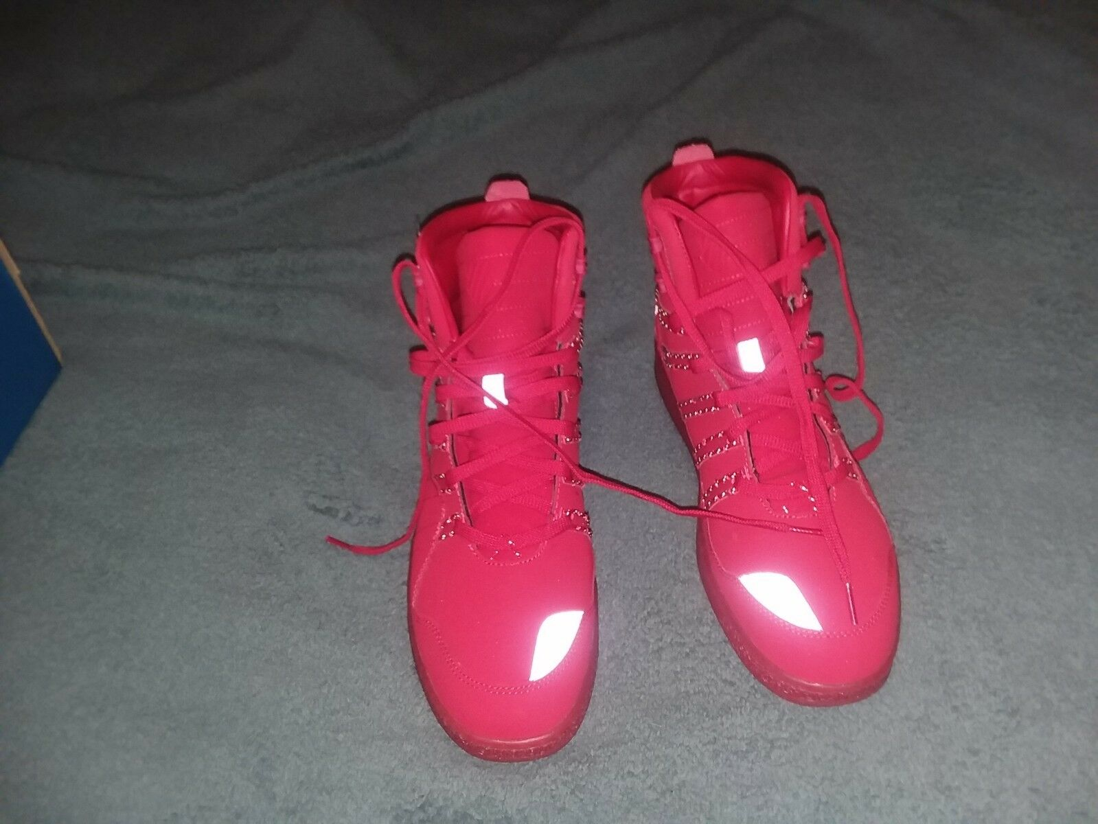 K swiss volley mid P 03649-643-M size 11 1 2 USA Med width Red