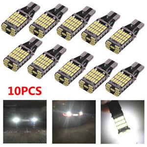 10x-T15-W16W-45-SMD-LED-Blinker-Rueckfahrlicht-Fehlerfrei-Canbus-Birne-Lampe-Set