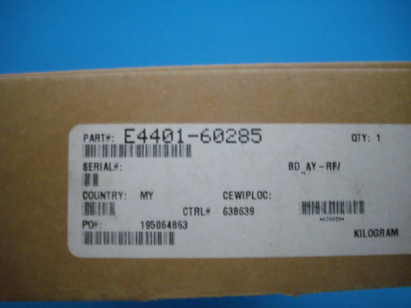 Agilent E4401-60285 A7A8 Digital Demod RF Assy x ESA series Spectrum Analyzers