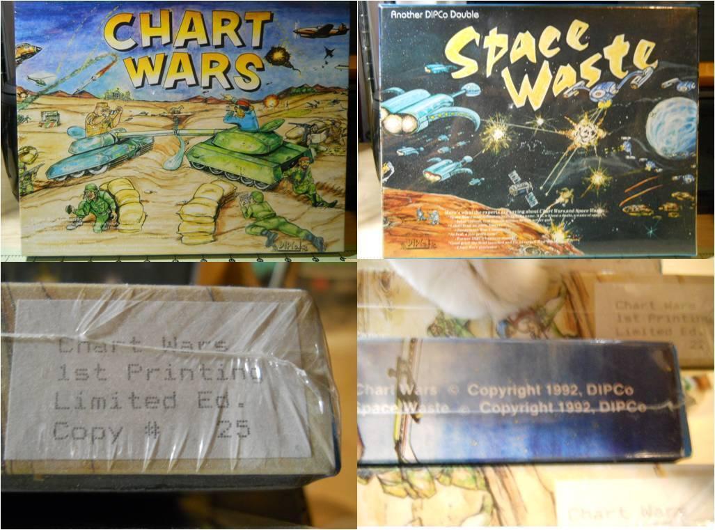 Grafico guerras spazio Rifiuti Gioco Sigillato 1992 Edizione Limitata   25 Guerra  nuovo stile
