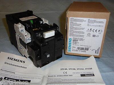 Siemens 3TC44 17-0AB4 DC Contactor 3TC44170AB4 Electric Motor Starter NEW