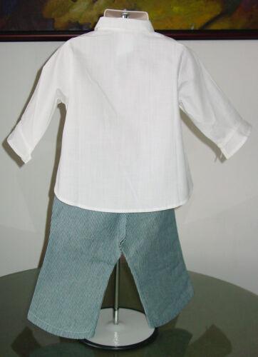 sz 2A NWT Catimini PALM BEACH Pants and Shirt Outfit