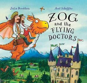 Zog-and-the-Flying-Doctors-by-Howard-Hughes-ExLibrary