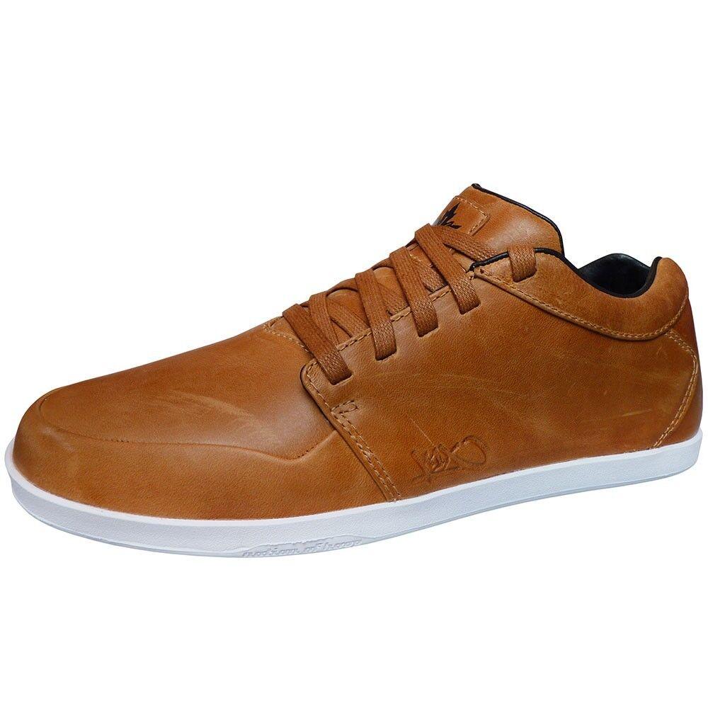 K1X LP Low Leather Herren Sneaker braun wheat