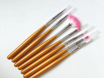 7  Brush Pen For BJD doll Make up DIY face up tool