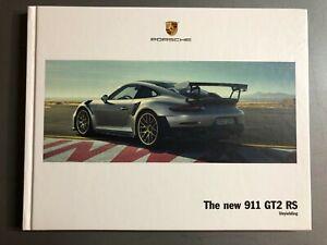 2008 Porsche 911 Turbo Cabriolet Hardbound Showroom Sales Brochure RARE!! 2007