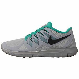 100% authentic 0af78 7dc84 Image is loading NIKE-FREE-5-0-FLASH-Reflective-Silver-Black-