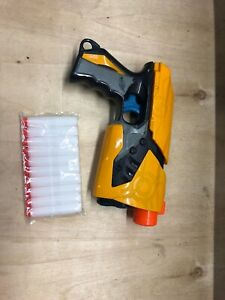 Nerf-dart-tag-sharp-shot-pistol-nerf-blue-trigger-Great-Condition-Free-Ammo