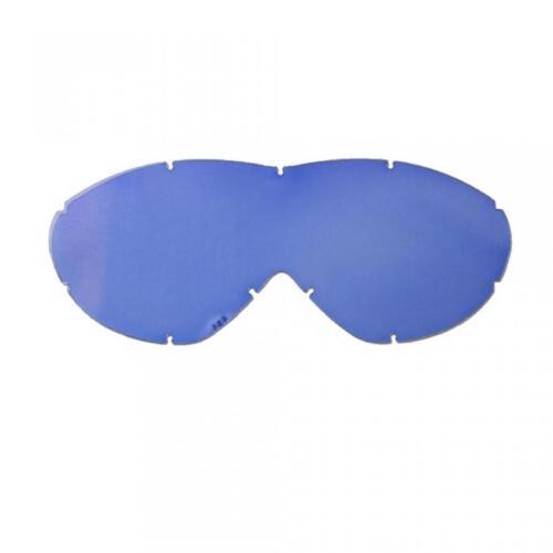 Reithelme Abschirmung semplice blau für Maske Brille cross Smith Sonic Motorrad Enduro Reit- & Fahrsport