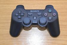 Used Genuine/Official Sony PS3 Playstation 3 Dualshock Wireless Controller Black