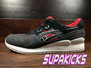 Details about ASICS GEL LYTE 3 III TIGER CAMO (Black Red) (H7Y0L 9090) Classic Running Mens