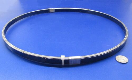 """Blue Tempered Spring Steel Shim 0.062/"""" Thick x .500/"""" Width x 10 Ft Length"""