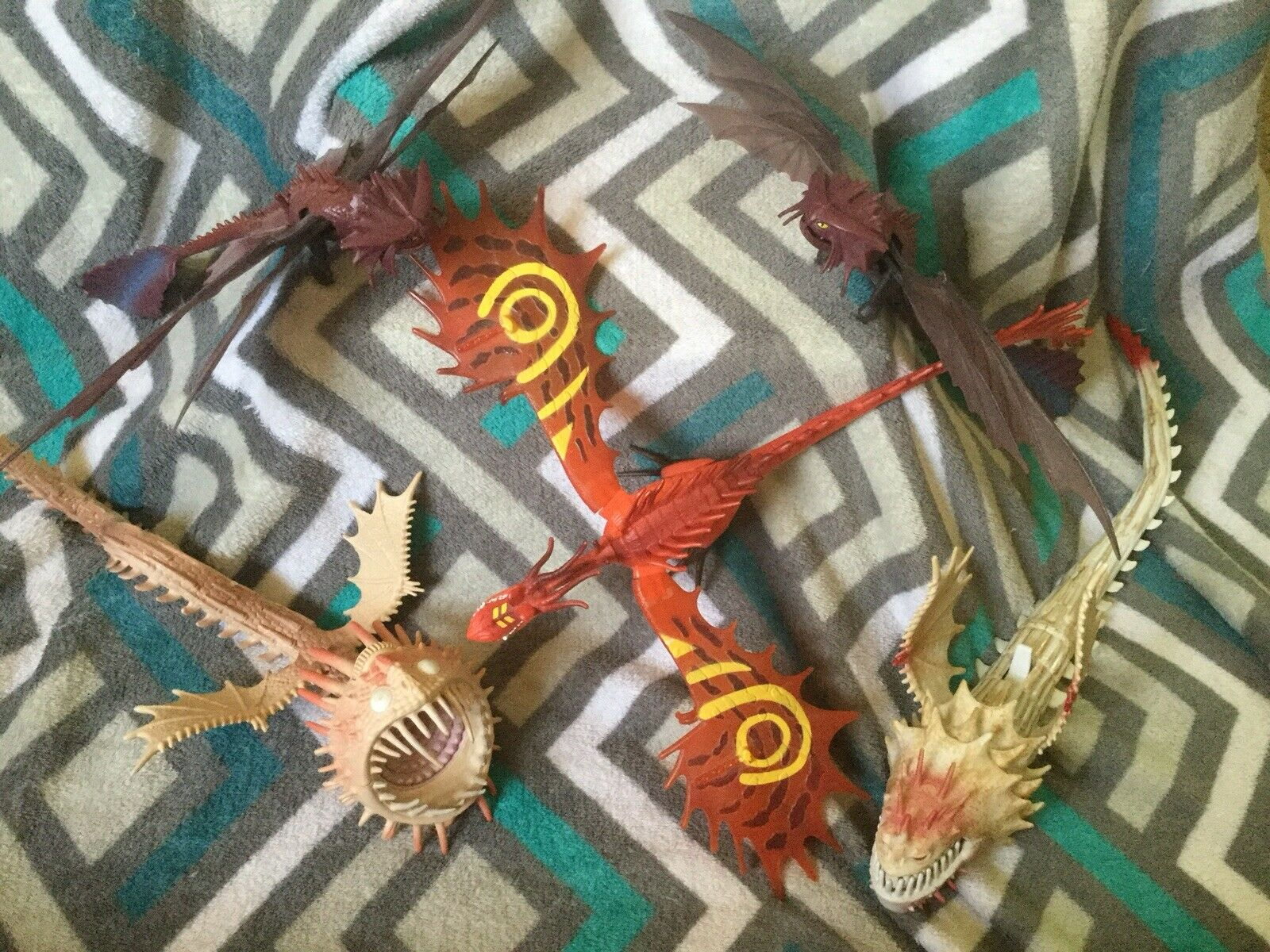 How to Train Your Dragon Lot 5pc Dreamworks