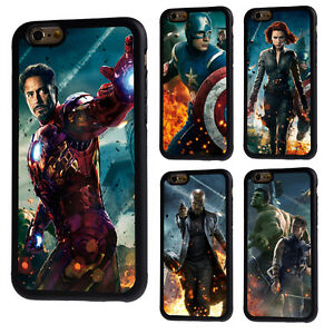 outlet store 4867a 8e31b Details about The Avengers Hulk Rubber Phone Case Cover For iPhone 5/5s/SE  5c 6/6s 7 8 X Plus