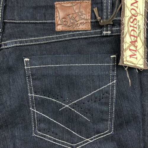 Taille Buckle Jeans Denim Basse Stretch Madison 29 Nwt Taille Bke Skinny Dark rCWxBodQe