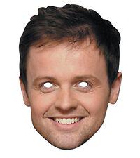 Declan Donnelly Promi 2D Karten Party Gesichtsmaske Kostüm Flach-Fernseher