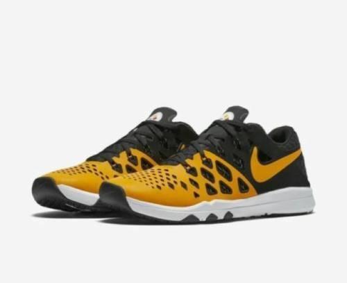 Mens Nike Train Speed 4 AMP 848587-714 NFL Pittsburgh Steelers Gold 7 10 10.5 18
