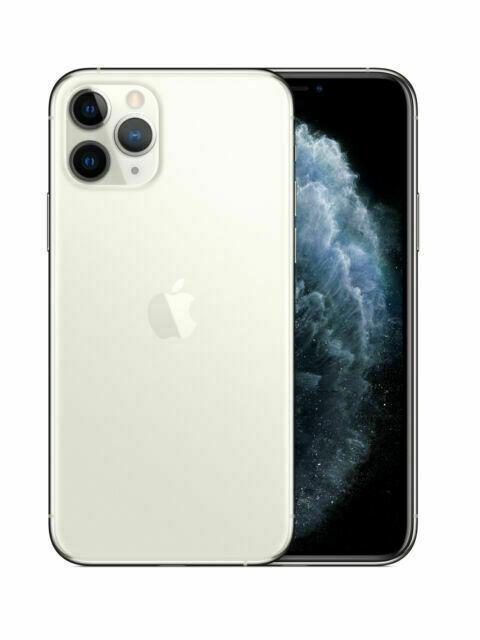 Apple iPhone 11 Pro - 256GB - Silber (Ohne Simlock) (Dual-SIM)