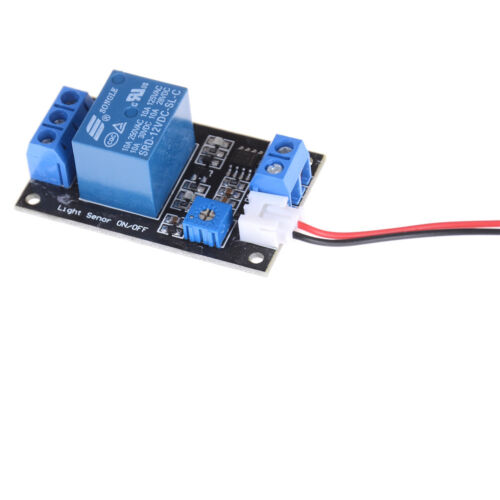 1x Photosensitive resistance relay control module//light-operated switch DC 12V Z