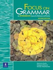 Focus on Grammar, Second Edition (Student Book, Intermediate Level)-ExLibrary