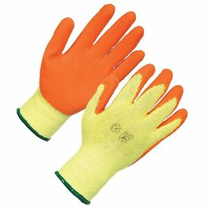 Portwest A145 Cold Grip Safety Working Gloves Latex 6,12,24 /& 48 Pairs