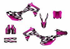 CRF 450R graphics decal kit for Honda Dirt Bike 2013 2014 2015 2016 #2500-Pink