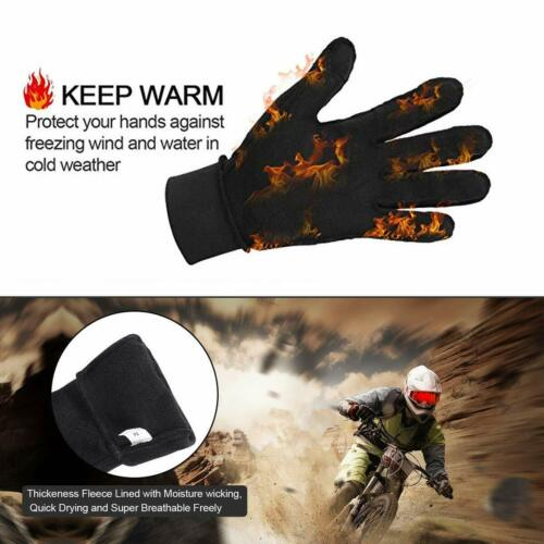 Winter Gloves Touch Screen Ski Thermal Windproof Warm for Cycling Driving Hiking