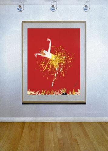"""/""""Applaues/"""" 22x30 Art Deco Print by Erte"""