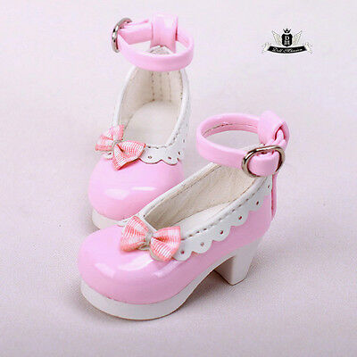 1//6 BJD Shoes Yosd Dollfie DREAM Black rabbit Shoes DOD SOOM MID AOD Dollmore DZ
