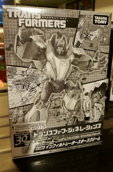 ** 2013 - Takara Transformers Infiltrator Starscream Million Publishing Misb **