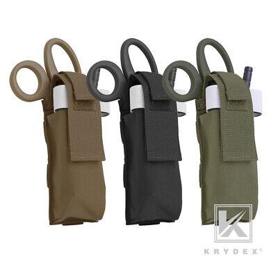 KRYDEX Tourniquet Holder Bundle Scissors /& Medical MOLLE First Aid Coyote Brown