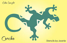 "Gecko STENCIL Southwest 6"" wide Lizard Reptile Diamond Back Shape Desert 4"" tall"