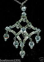 Opulent Diamonique Cz 10 Cttw Formal Chandelier Necklace A Stunning Gift
