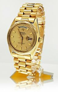 Sehr-seltene-Rolex-18k-Gold-Day-Date-Ref-6611-aus-ca-1956