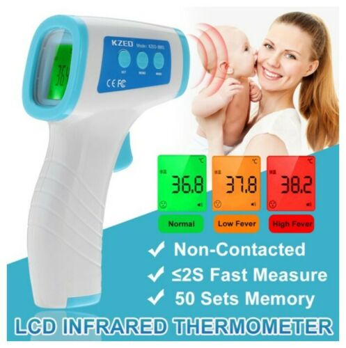 FDA Approved Non Contact Digital IR Forehead Thermometer LCD Display-US Stock