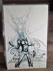 Ghost-Rider-Original-Art-Page-by-Riley-Rossmo-11x17-Cover-Quality-Beautiful-Art