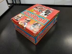 1981-Topps-Football-Original-Unopened-Box-36-Packs-RARE-1979-Wrappers-Montana
