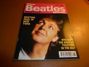 THE-BEATLES-BOOK-MONTHLY-Magazine-No-304-August-2001