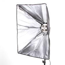 50x70cm Studio Light Photography Softbox F 4 E27 Lamp Bulb Head Tageslichtlampe