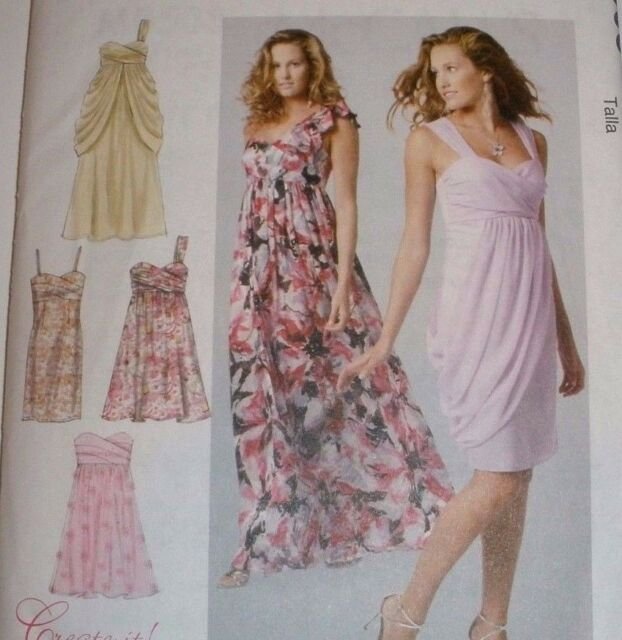 Sew Make Mccalls M6508 Sewing Pattern Womens Semi Formal Party